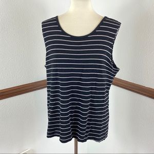 Chico's Travelers sleeveless blouse size 3
